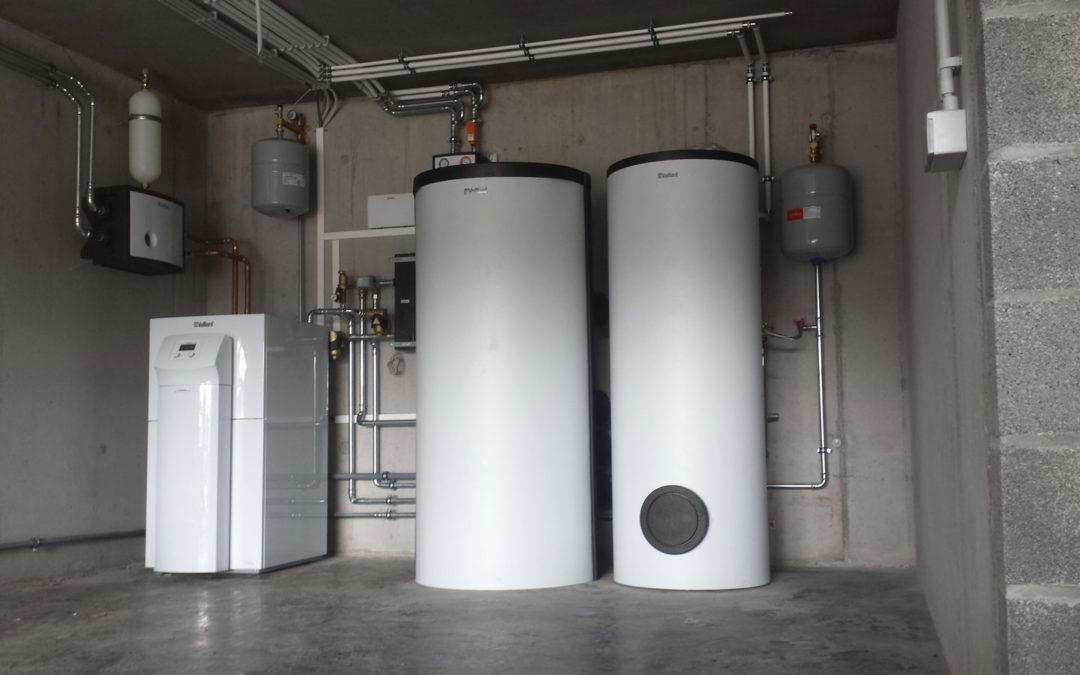 Verwarmingsinstallatie (Vaillant)